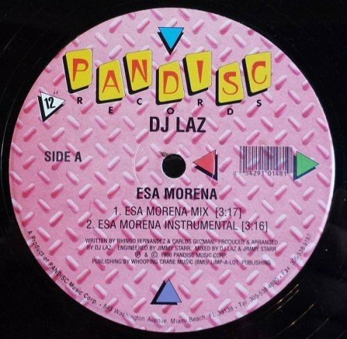 DJ Laz - Esa Morena (12'' Vinyl) cover