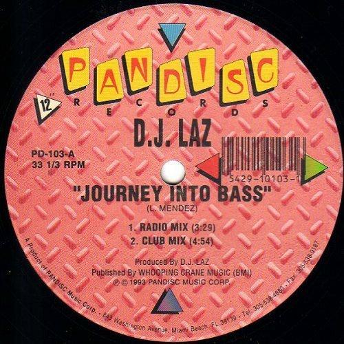 DJ Laz - Journey Into Bass (12'' Vinyl, 33 1-3 RPM) cover