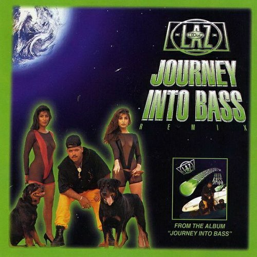 DJ Laz - Journey Into Bass (CD, Maxi-Single) cover