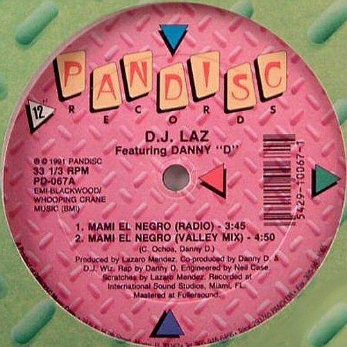 DJ Laz - Mami El Negro (12'' Vinyl, 33 1-3 RPM) cover