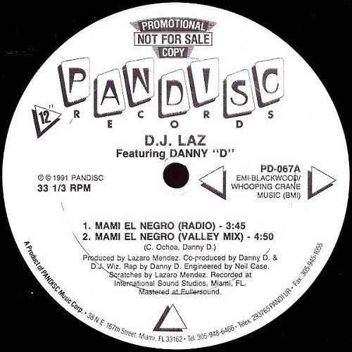 DJ Laz - Mami El Negro (12'' Vinyl, 33 1-3 RPM, Promo) cover