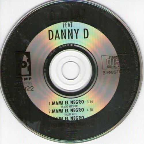 DJ Laz - Mami El Negro (CD, Maxi-Single) cover