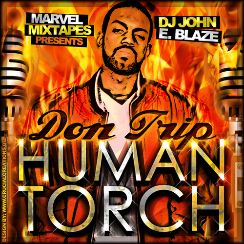 Don Trip - Human Torch cover