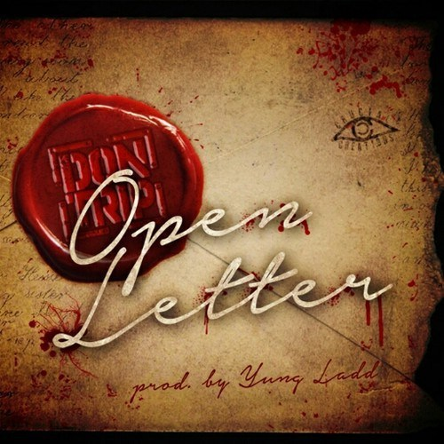Don Trip - Open Letter cover