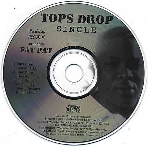 Fat Pat - Tops Drop (CD Single) cover