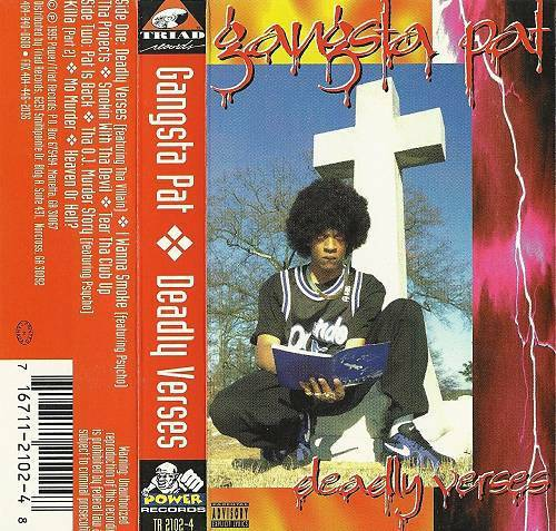 Gangsta Pat - Deadly Verses cover