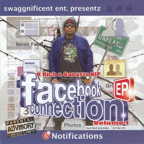 Ganxsta NIP - Facebook Connection Vol. 1 cover