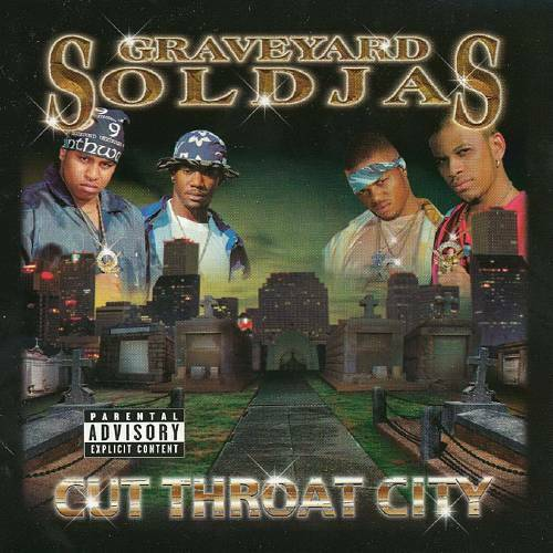 Graveyard Soldjas - Cut Throat City cover