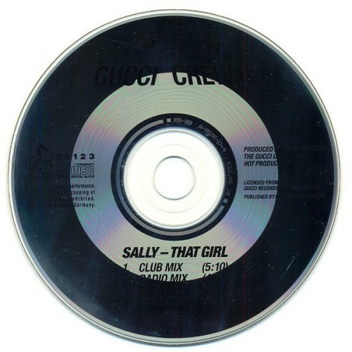 Gucci Crew II - Sally (That Girl) (CD Single) cover