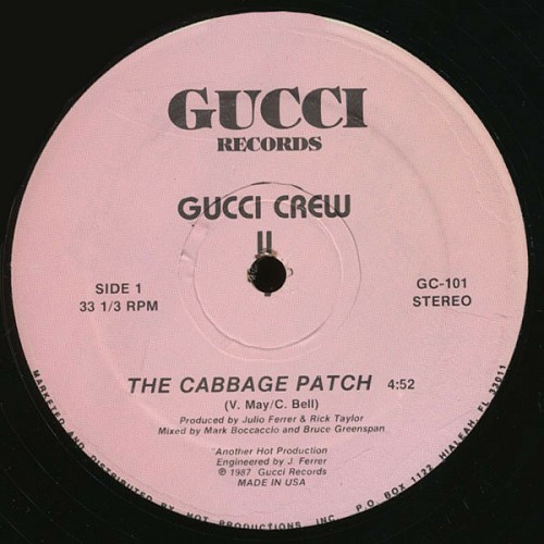 Gucci Crew II - The Cabbage Patch (12'' Vinyl, 33 1-3 RPM, Pink Labels) cover