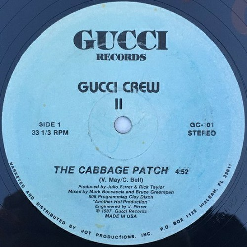 Gucci Crew II - The Cabbage Patch (12'' Vinyl, 33 1-3 RPM, White Labels) cover