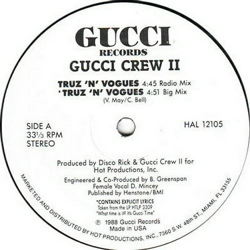 Gucci Crew II - Truz `N` Vogues (12'' Vinyl, 33 1-3 RPM) cover