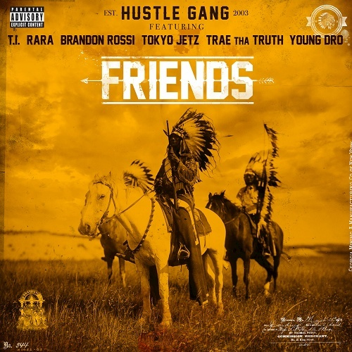 Hustle Gang - Friends cover