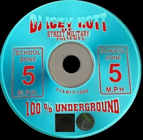 DJ Icey Hott - School Zone 5 M.P.H. cover