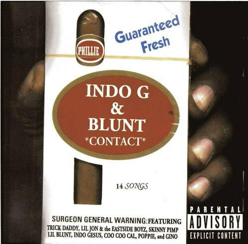 Indo G & Blunt - Contact cover