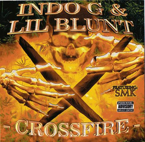 Indo G & Lil Blunt - Crossfire cover