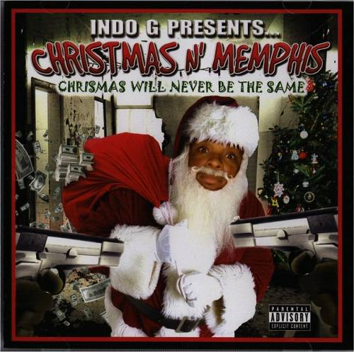 Indo G presents Christmas N Memphis cover