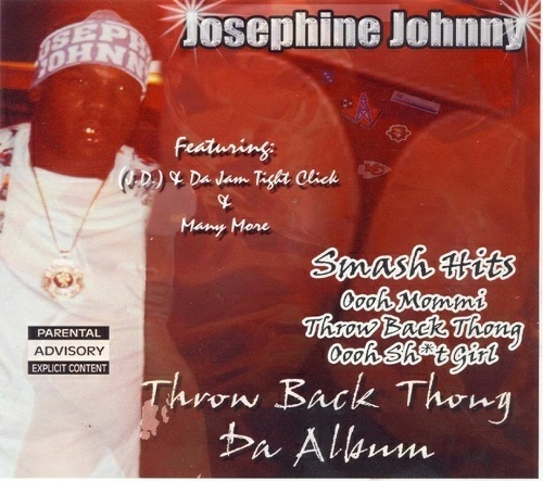 Josephine Johnny - Throw Back Thong cover