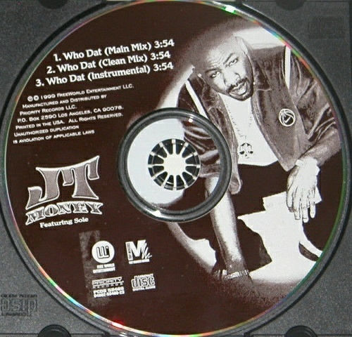 JT Money - Who Dat (CD Single) cover