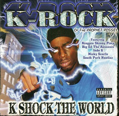 K-Rock - K Shock The World cover