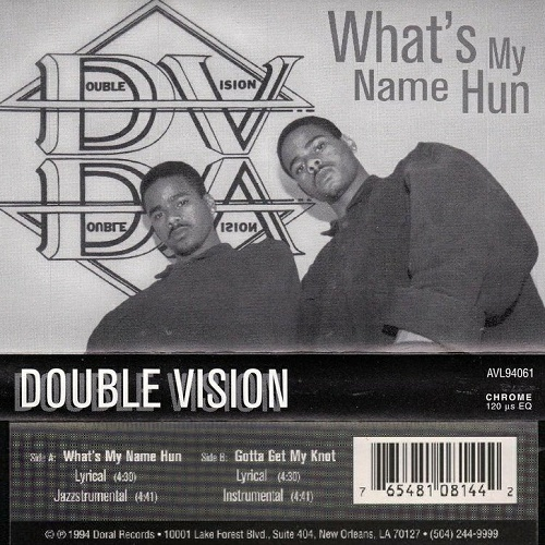Double Vision - What`s My Name Hun (Cassette, Single) cover