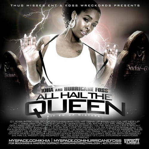 Khia - All Hail The Queen cover