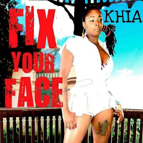 Khia - Fix Ya Face cover
