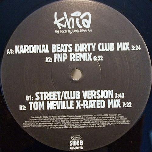 Khia - My Neck, My Back (Like It) (12'' Vinyl) cover