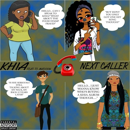 Khia - Next Caller cover