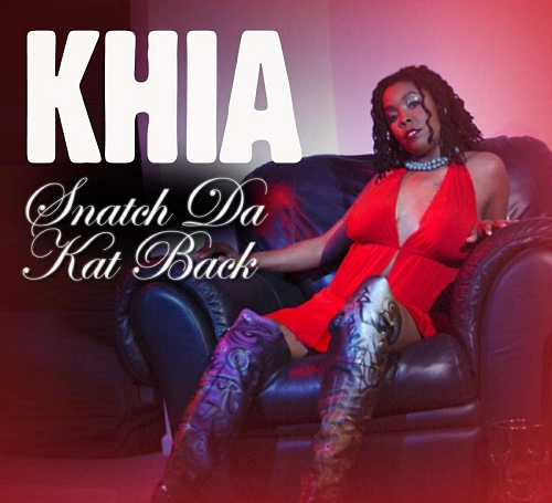 Khia - Snatch Da Kat Back (CD Single) cover