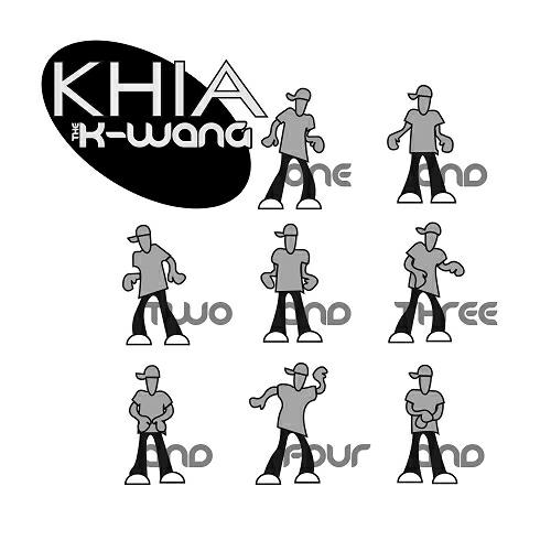 Khia - The K-Wang (Radio Remixes) (12'' Vinyl, 33 1-3 RPM, Promo) cover