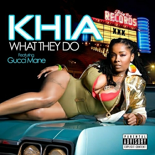Khia - What They Do (Maxi-Single) cover