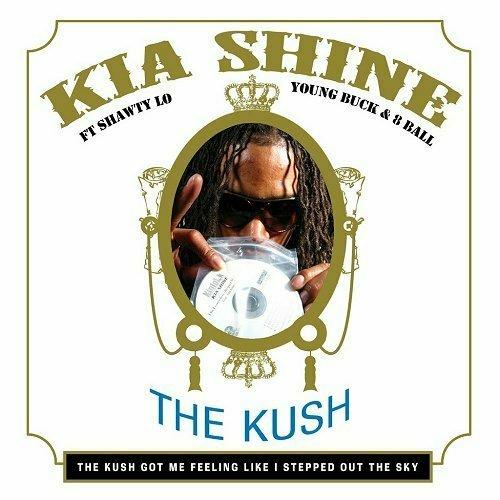 Kia Shine - The Kush EP cover
