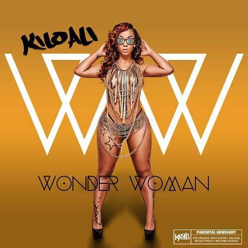 Kilo Ali - Wonder Woman cover