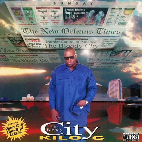Kilo G - The Bloody City cover