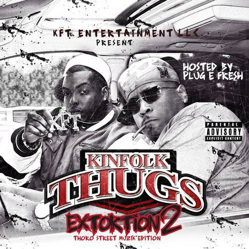 Kinfolk Thugs - Extortion 2 cover