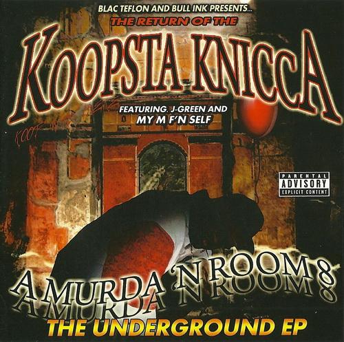 Koopsta Knicca - A Murda `N Room 8 cover