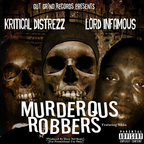Kritical Distrezz - Murderous Robbers cover