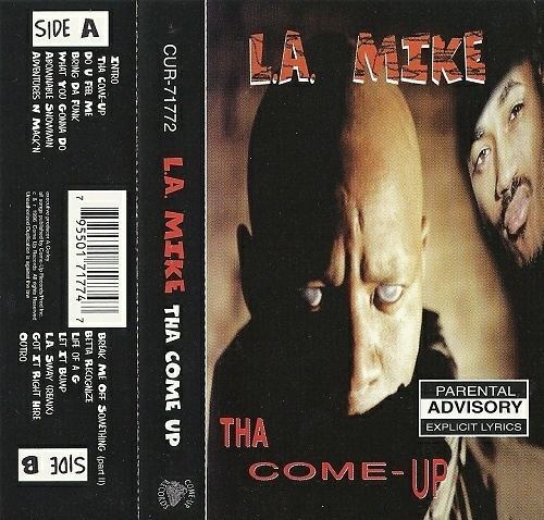 L.A. Mike - Tha Come-Up cover