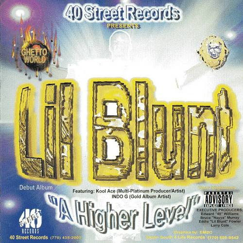 Lil Blunt - A Higher Level cover