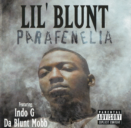 Lil Blunt - Parafenelia cover
