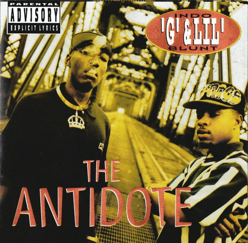 Indo G & Lil Blunt - The Antidote cover