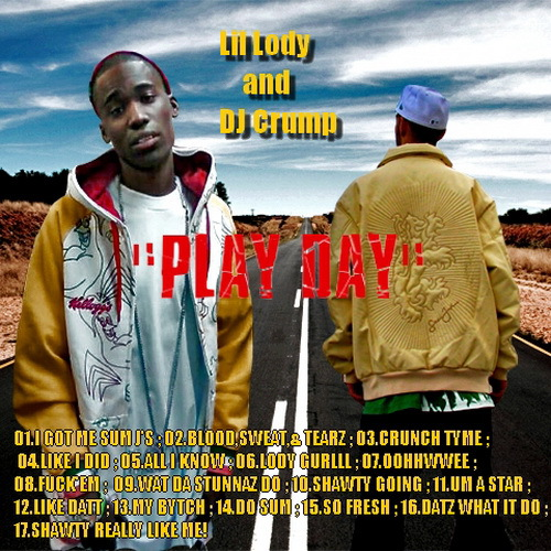Lil Lody - Play Day cover