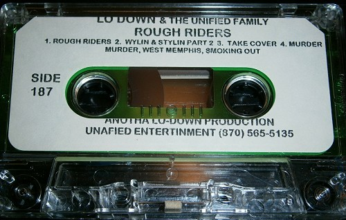 Lo-Down & The Unified Family - Rough Riders cover