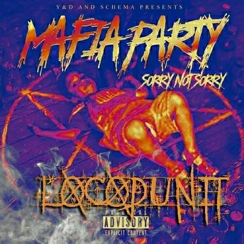 Locodunit - Mafia Party. Sorry Not Sorry cover