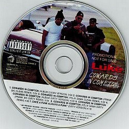 Luke - Cowards In Compton (CD Single, Promo) cover