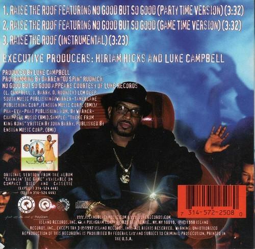 Luke - Raise The Roof (CD Single, Promo) cover