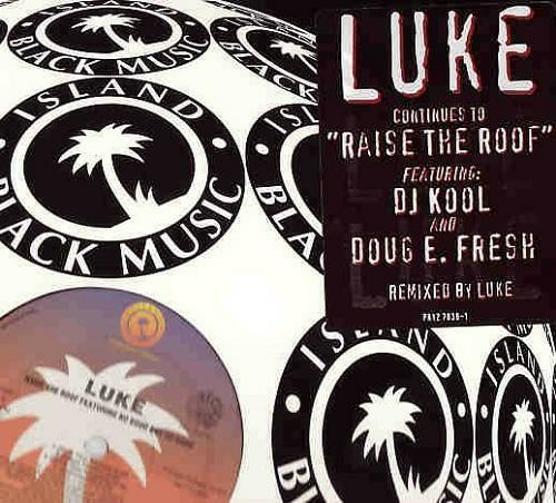 Luke - Raise The Roof Remix (12'' Vinyl, 33 1-3 RPM, Promo) cover