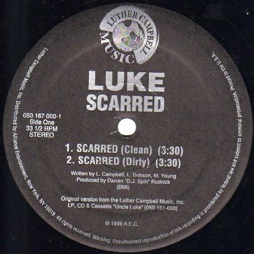 Luke - Scarred (12'' Vinyl, 33 1-3 RPM) cover