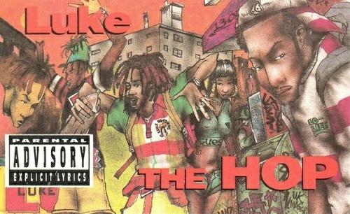 Luke - The Hop (Cassette Single) cover